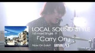 "2009.08.05 on sale LOCAL SOUND STYLE NEW SINGLE Carry On"" FABC-091."