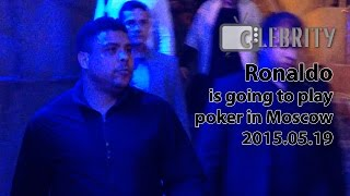 Ronaldo is going to play poker in Moscow, 19.05.2015(, 2015-05-19T22:04:05.000Z)