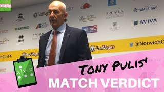 Norwich City 1 Middlesbrough 0 ¦ Tony Pulis reaction