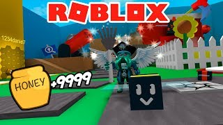 THE NEW VIRAL MINIGAME OF ROBLOX 😱 - ROBLOX BEE SIMULATOR 🐝