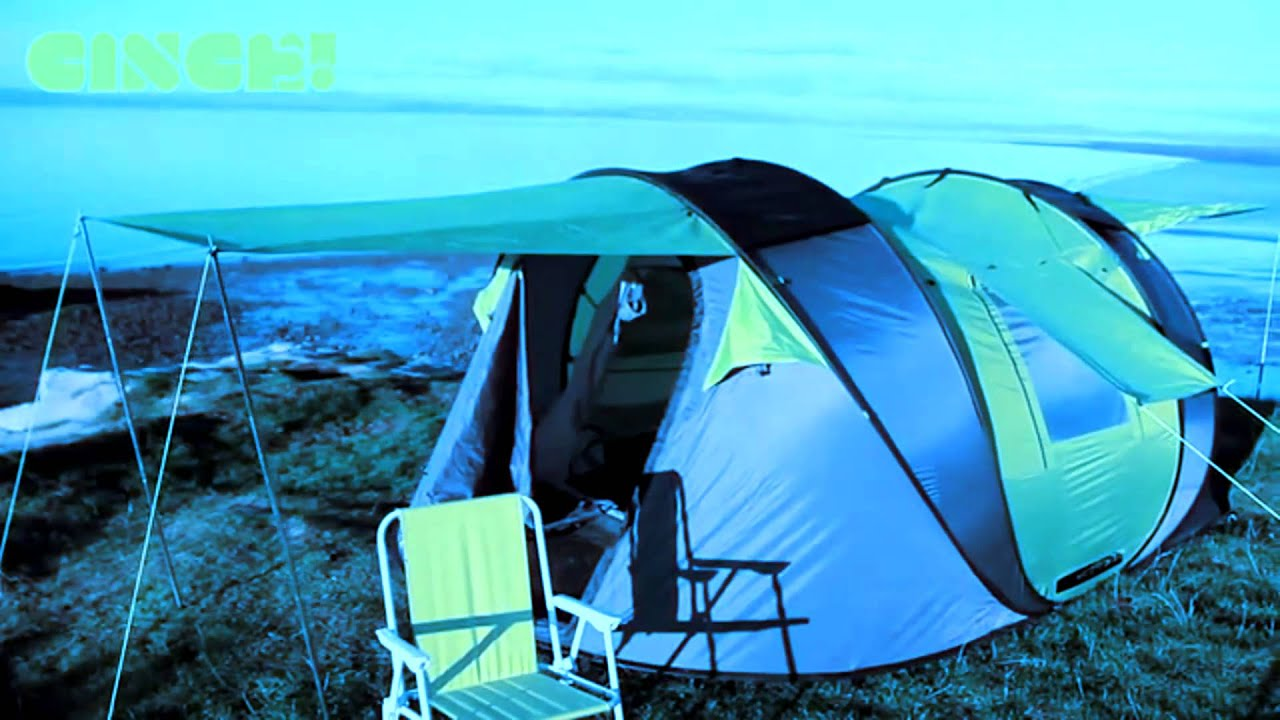 Cinch Pop Up Tent - Behold The Future & Cinch Pop Up Tent - Behold The Future - YouTube