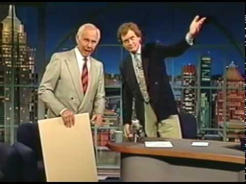 Johnny Carson on David Letterman 5-23-91 program 1476