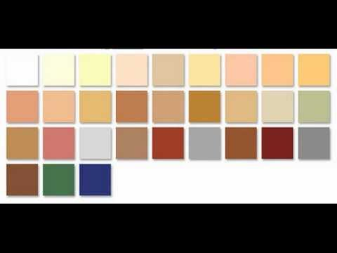 Colores pintura para fachadas pinturas online youtube for Catalogo colores pintura pared