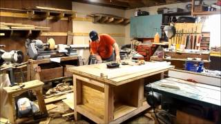 Outfeed Table and Workbench