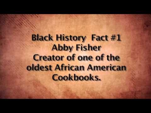 Black Food History Food Fact- Abby Fisher- From Slave to Cookbook Publisher