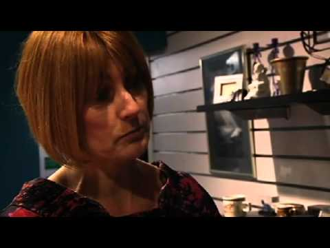 Mary Portas deals with argumentative customer
