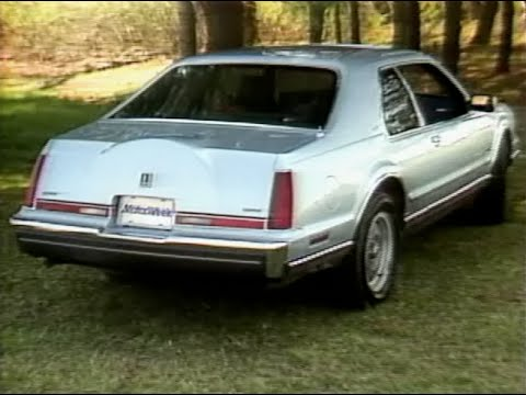 Motorweek Retro Review 88 Lincoln Mark Vii Lsc Youtube