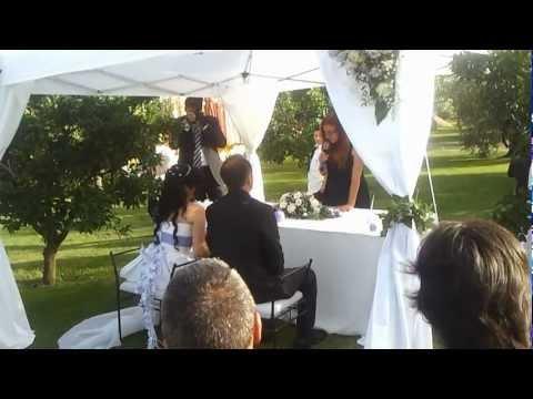 Cerimoniere Matrimonio Simbolico Roma : Cerimonia simbolica a roma cerimoniere barbara youtube