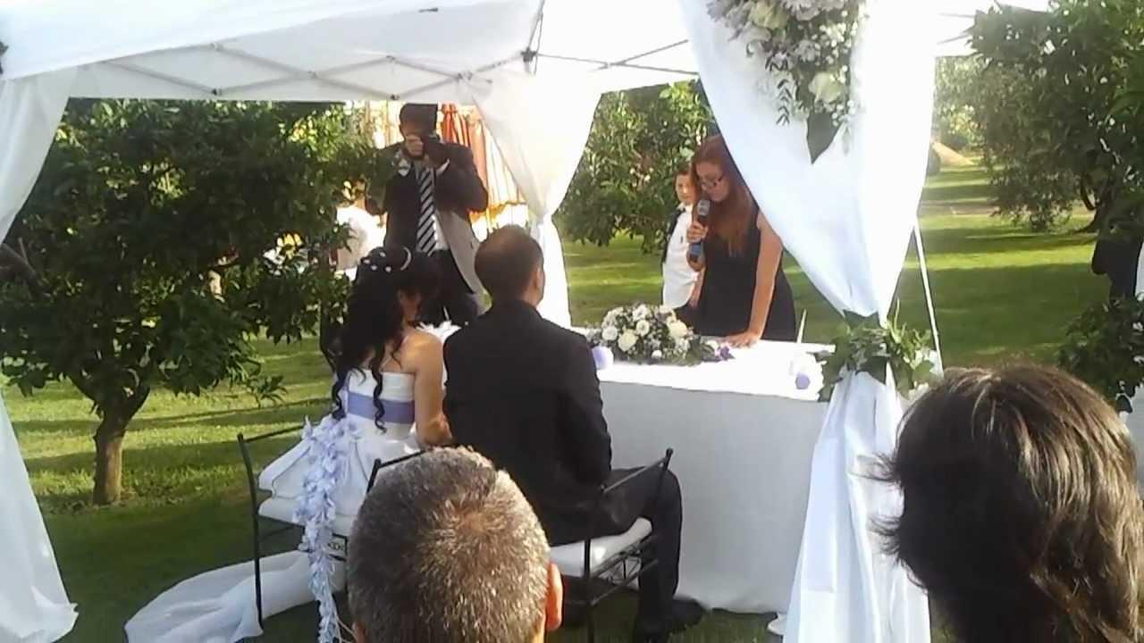 Celebrante Matrimonio Simbolico Roma : Cerimonia simbolica a roma cerimoniere barbara youtube