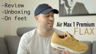 air max 1 premium flax