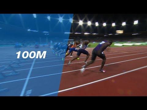Chijindu Ujah Defeats Justin Gatlin in the Men's 100m - IAAF Diamond League Zürich 2017