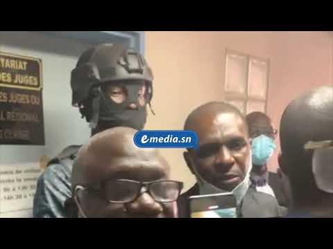 URGENT - Dispute entre avocats de Sonko et gendarmes devant le bureau du juge !
