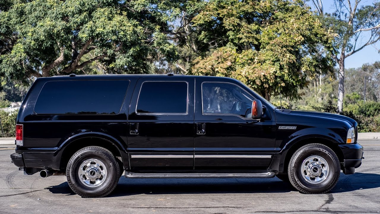 2003 ford excursion limited diesel suv
