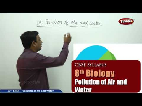 Pollution of Air and Water | Class 8th Science-Biology | NCERT | CBSE Syllabus | Live Videos