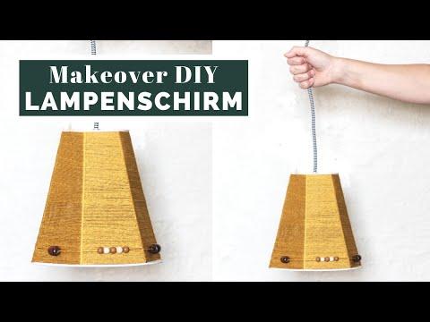 Lampenschirm Aus Wolle | DIY-Tutorials | Muckout.de – Bastel-Sets & DIY-Anleitungen