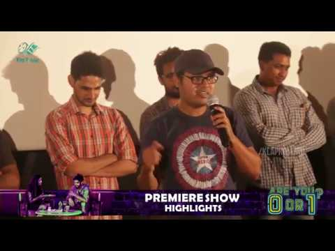 Are You? 0 Or 1? | Telugu Short Film Premiere Show Highlights | Directed By Kalyan | Klaprolling