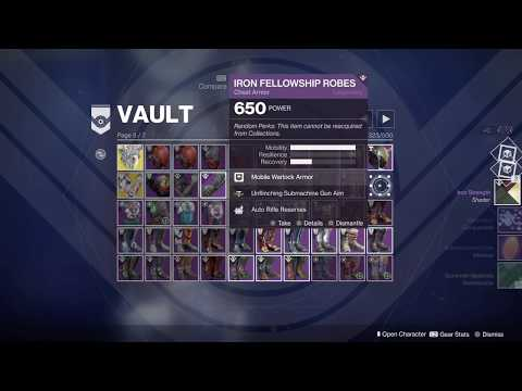Destiny 2 Vault Spring Cleaning 2019 PS4