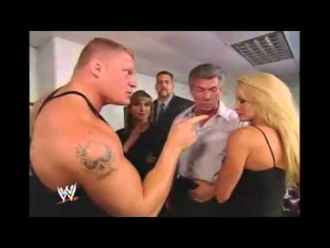stephanie sable brock lesnar and the big show 9 11 2003 youtube. Black Bedroom Furniture Sets. Home Design Ideas