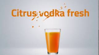 Citrus vodka fresh