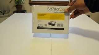 Startech Hot-Swap Bay Unbox & Review (HSB100SATBK) (2015)