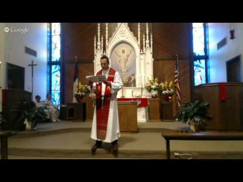 Saint Paul Lutheran's 125th Anniversary Service
