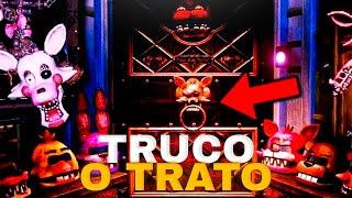 FIVE NIGHTS AT FREDDY'S VR | JUGANDO A TRUCO O TRATO CON LOS ANIMATRONICOS! EPICO HALLOWEEN DLC !