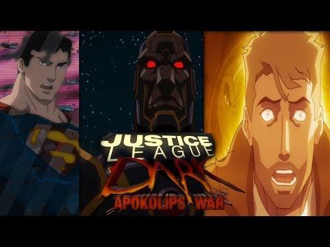 JUSTICE LEAGUE DARK: Apokolips War Trailer (2020)