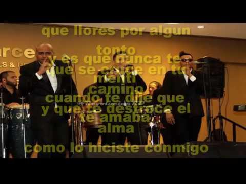 Revolucion Salsera - Te Estaré Esperando ''LETRA'' 2017