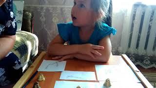 Вероника учится читать. 11 видеоурок про парные согласные Б,П.