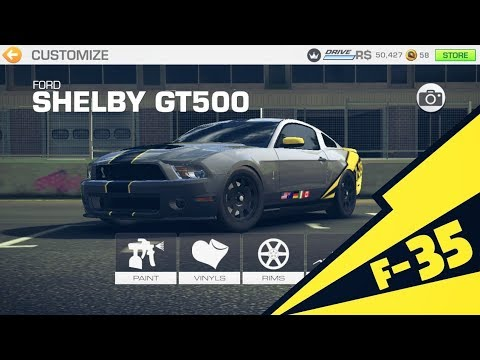 Real Racing 3 Car Customization: Ford Mustang GT500