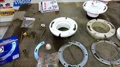 toilet flange repair ,tips @ tricks