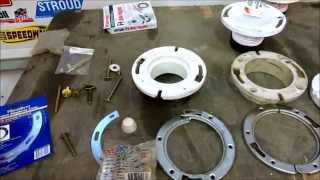 toilet flange repair ,tips @ tricks