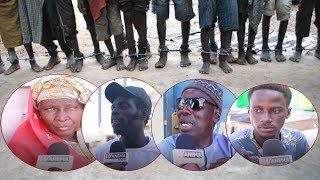 Images choquantes de talibés enchainés : les sénégalais réagissent !
