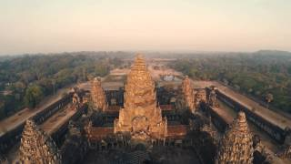 Angkor, visit from the sun - Drone Experience Festival
