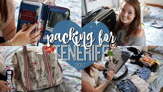 PACK WITH ME: SUMMER HOLIDAY EDITION! ♡ | Brogan Tate