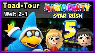 MARIO PARTY: STAR RUSH Part 5: Toad Tour | World 2-1 | Juli immer nah dran