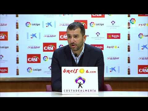 Rueda de prensa de Diego Martínez tras el Osasuna vs UD Almería (0-1)