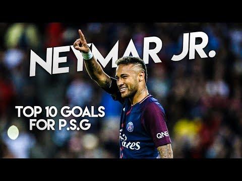 Neymar Jr. 2018 • TOP 10 Goals for PSG