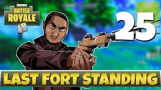 [25] Last Fort Standing (Let's Play Fortnite: Battle Royale w/ GaLm and friends)