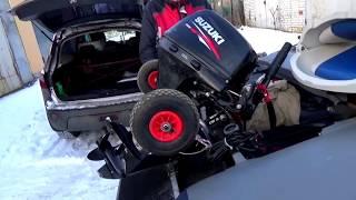 Как заменить масло в лодочном моторе SUZUKI DF15A / Сузуки ДФ15 АС