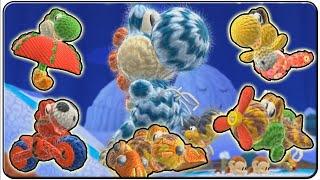 Yoshi's Woolly World All Transformation Level