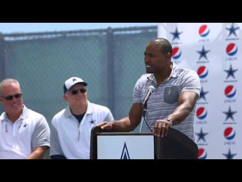 Dallas Cowboys Darren Woodson In Ring Of Honor