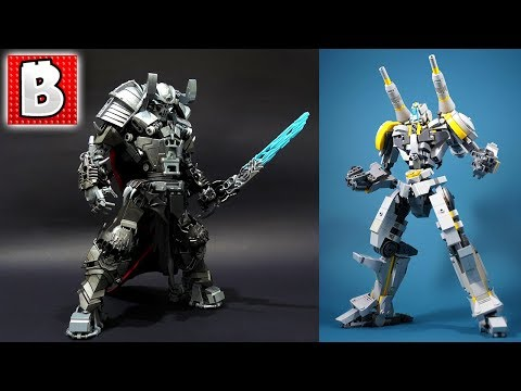 LEGO Skull Knight and Awesome Mech in LEGO Top MOCs!!!