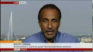 TARIQ RAMADAN 'EGYPT'S RETURN TO A MUBARAK STYLE ERA' - BBC NEWS