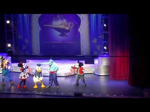 Disney Live! Festival Musical do Mickey. Rio de Janeiro, 2013. Alladin completo.