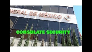 MEXICAN CONSULATE LOS ANGELES. ARE YOU RECORDING ME OR WHAT??