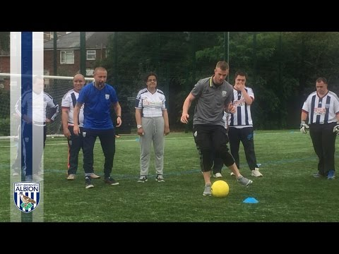The Albion Foundation help launch the BT Sport Football Disability Programme