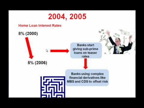 How did the current Economic crisis happen ?