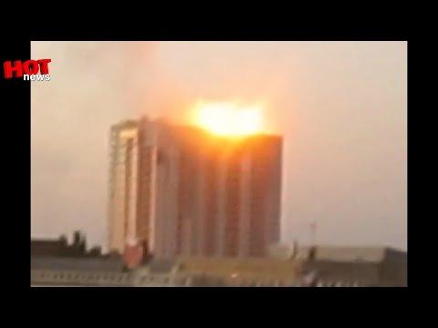 Луганск: обстрел многоэтажек