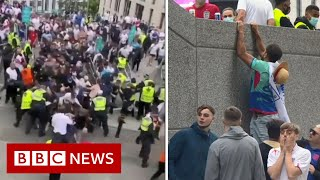 How did 'drunk yobs' break into Wembley for England's Euro 2020 final? - BBC News